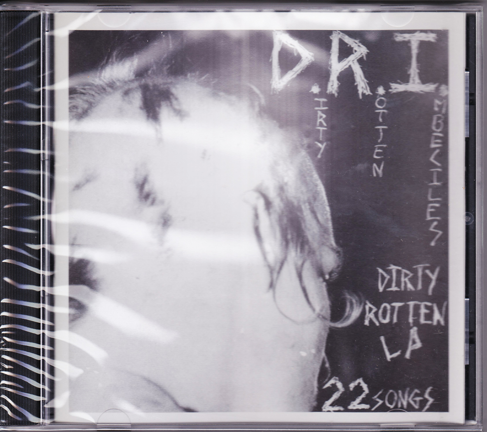 D.R.I. 『Dirty Rotten LP (On CD &Re-issue)』