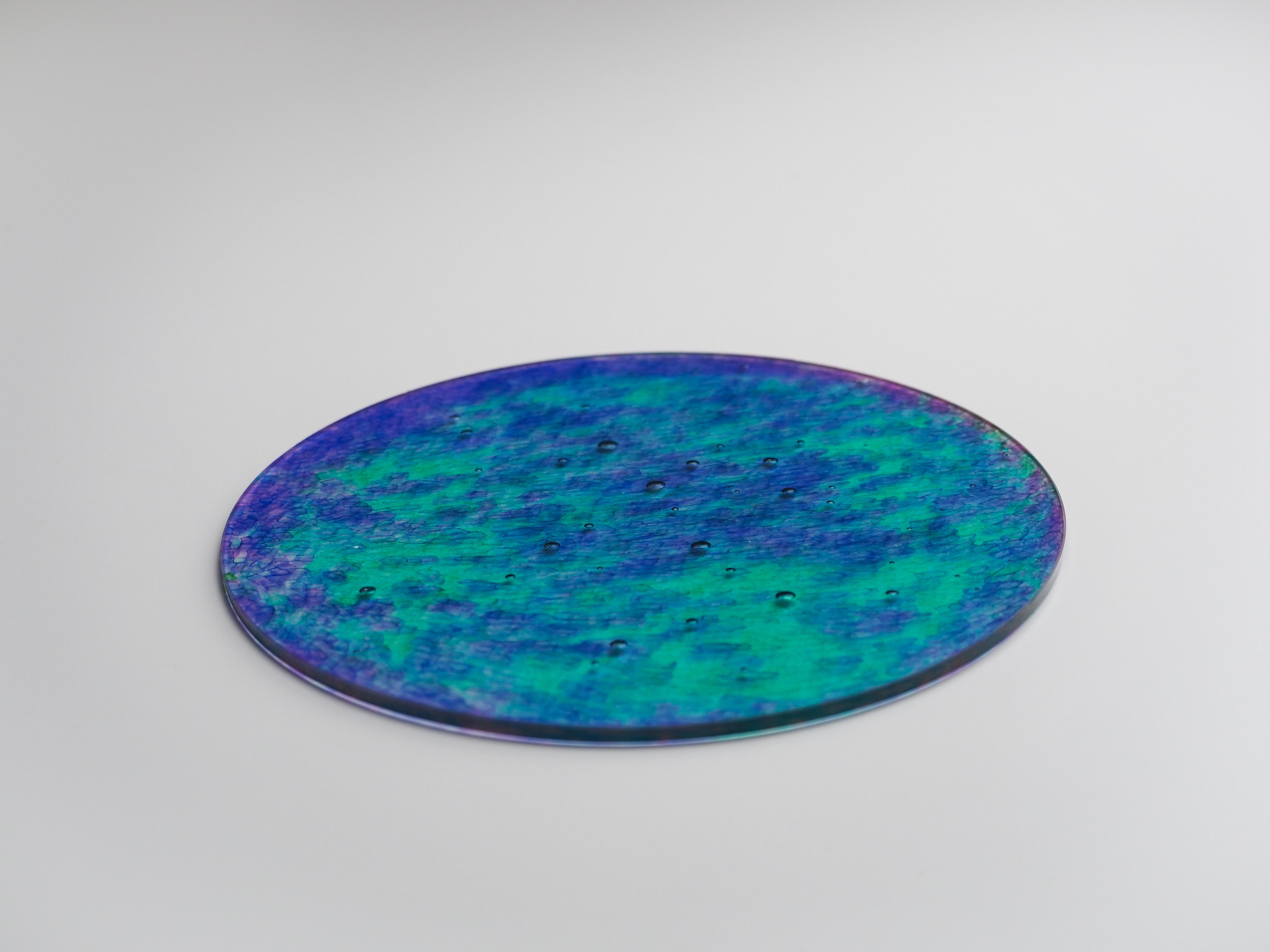 インテリアプレート-CL(紫×緑)ip-cl-1