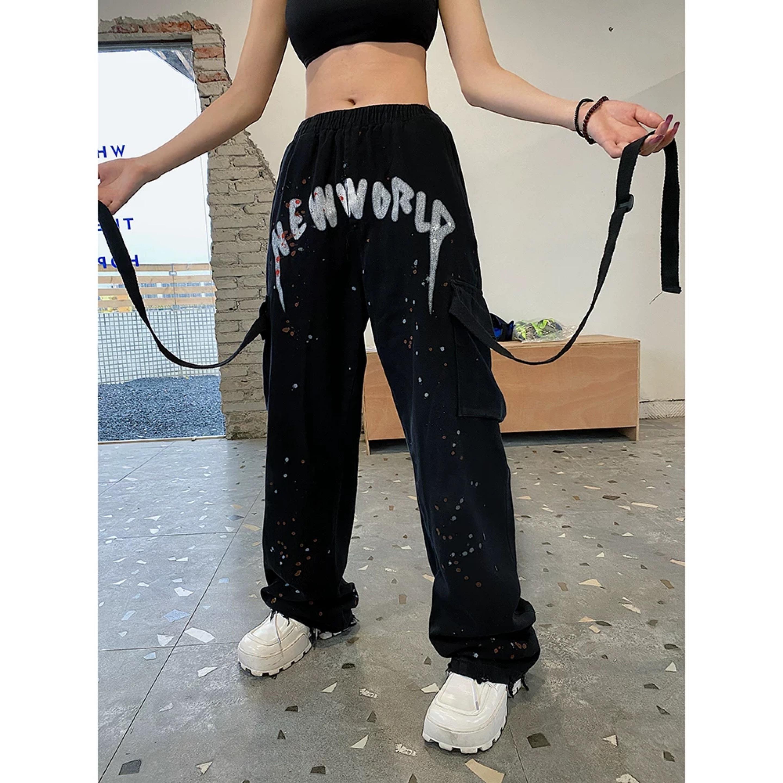 new paint loose pants