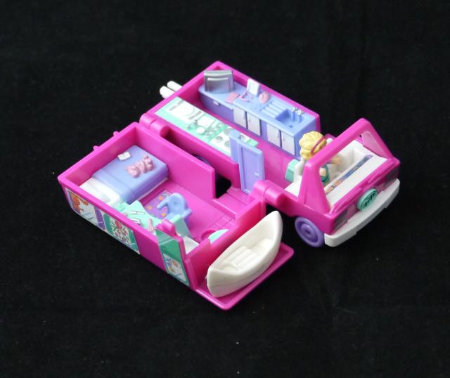 ポーリーポケット キャンピングカー 1994年 ほぼ完品