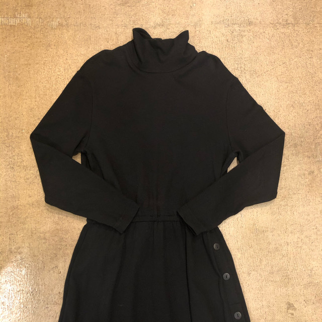 Turtle Neck Long Onepiece ¥6,900+tax