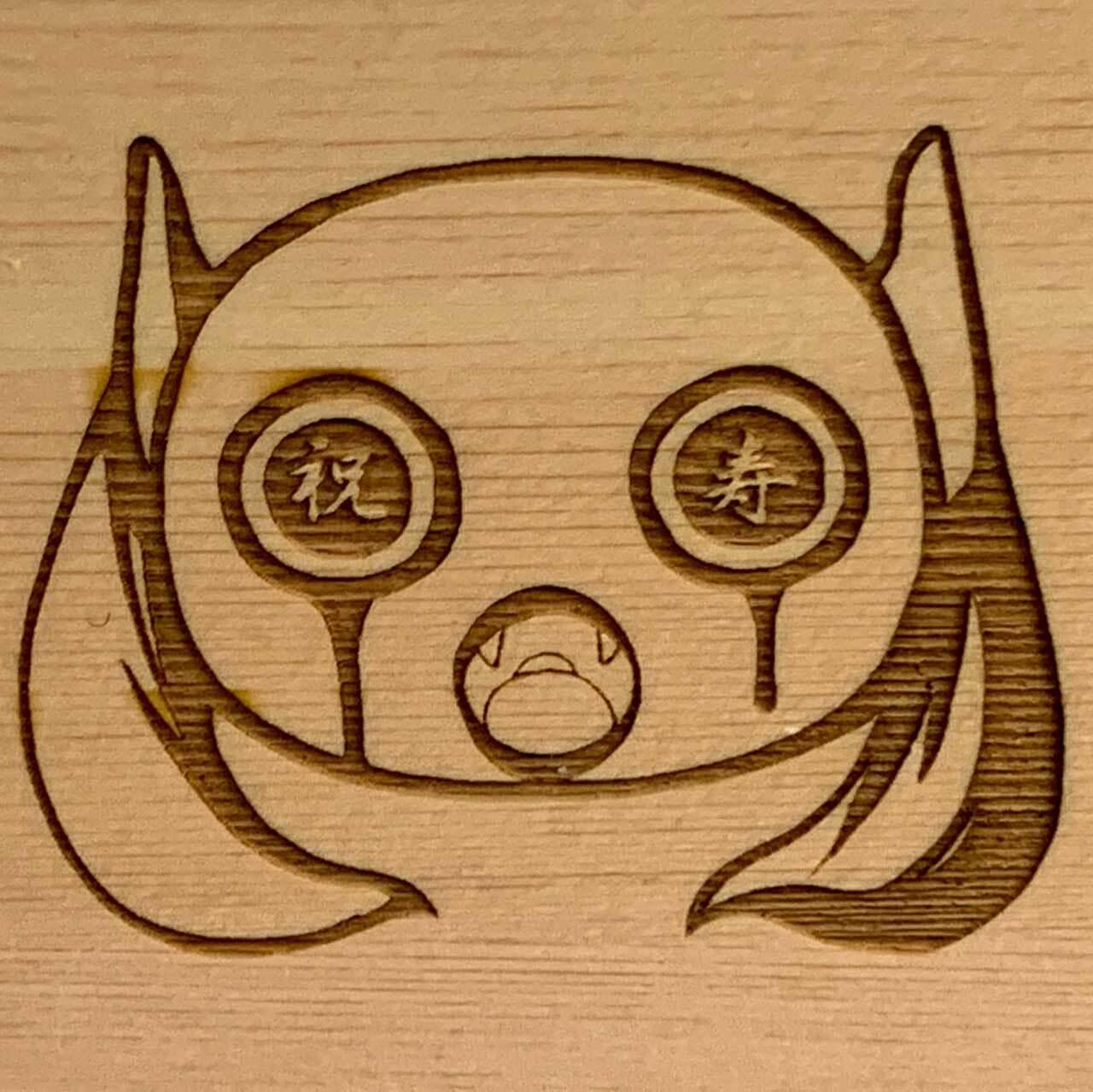 ピノキオピー - オリジナル一合枡「祝」 - 画像3