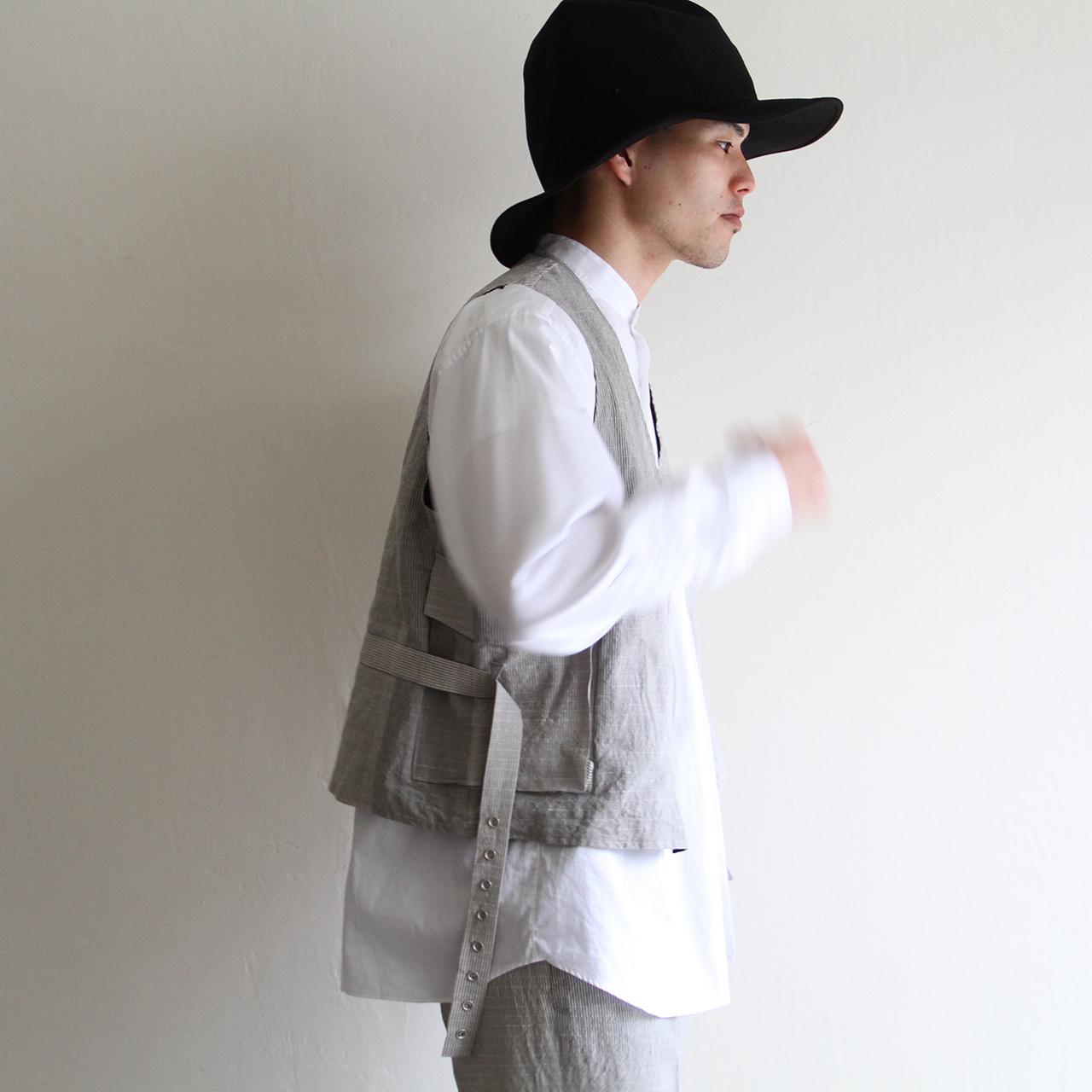 HICOSAKA【 mens 】chino maunt hat