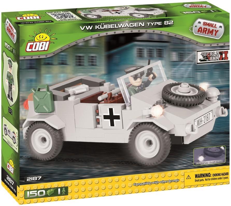 COBI #2187 キューベルワーゲン Type 82 Kubelwagen