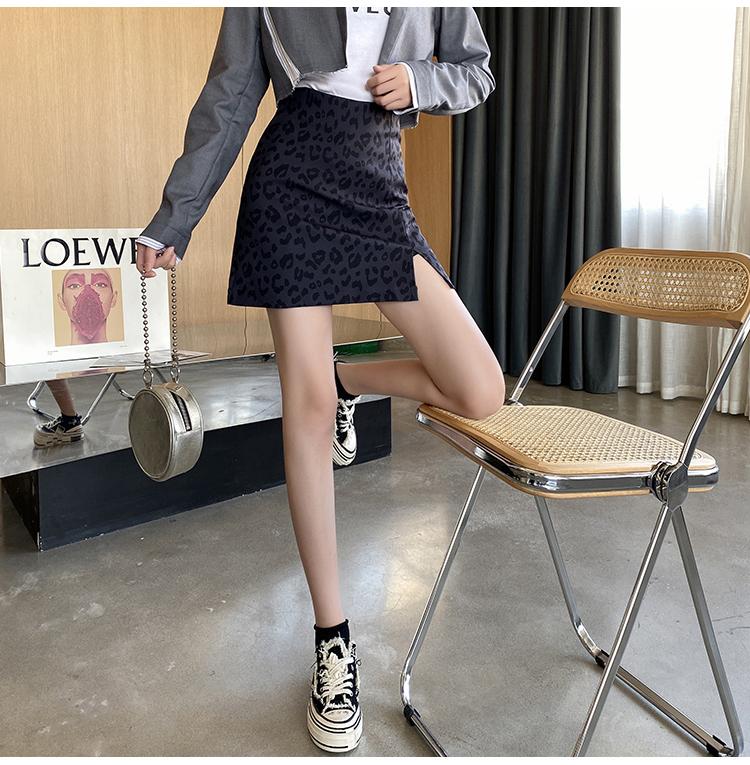 レオパードミニスカート  【leopard short skirt】