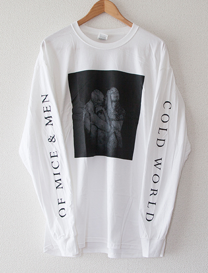 【OF MICE & MEN】Cold World Long Sleeve (White)
