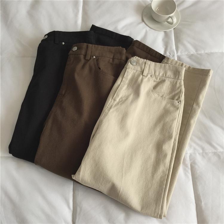 〈Ranking No.2〉ハイウエストカフェパンツ 【high waist cafe pants】