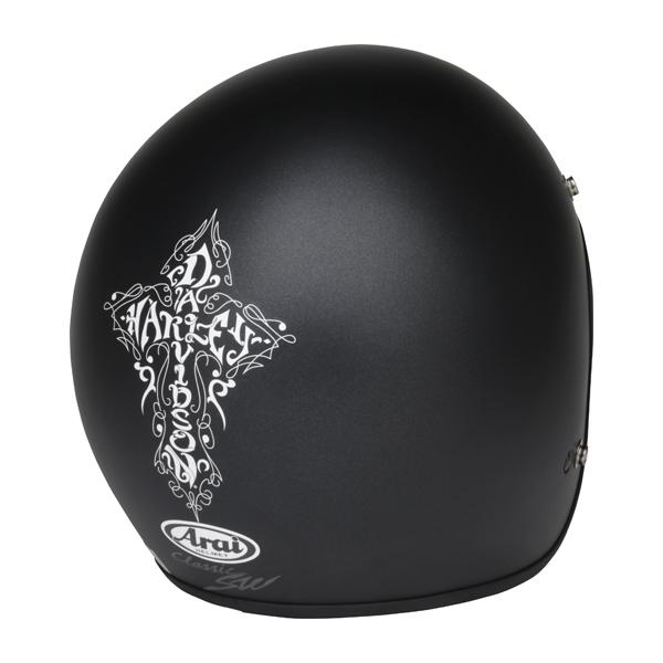 H-D CROSS GRAPHICヘルメット