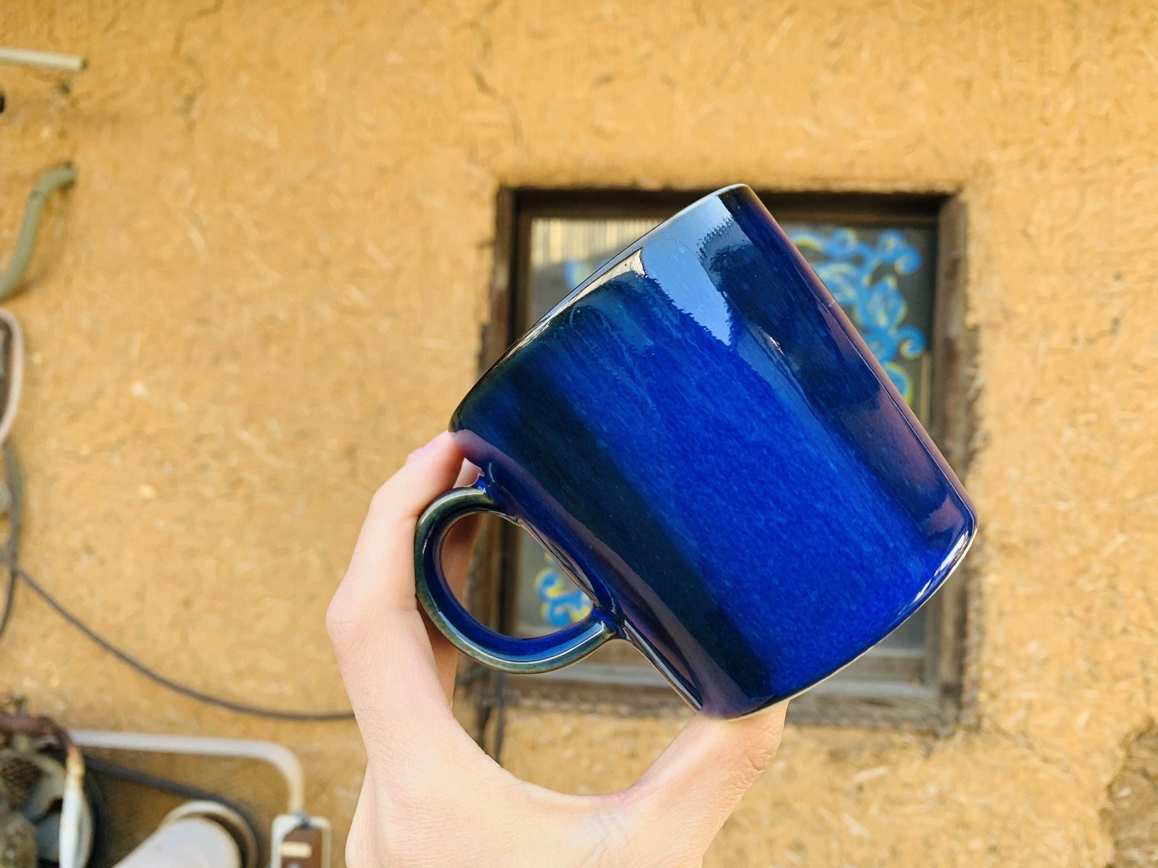 藍青 マグカップ