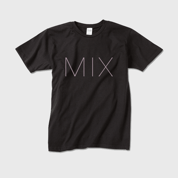 MIXロゴTシャツ Sブラック - 画像1
