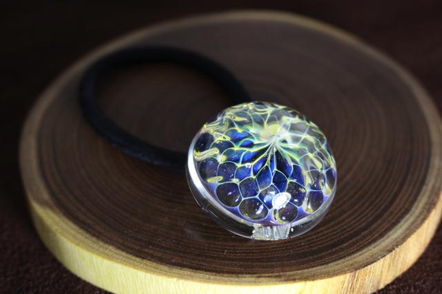 【Blue Flower】青の花ヘアゴム #2