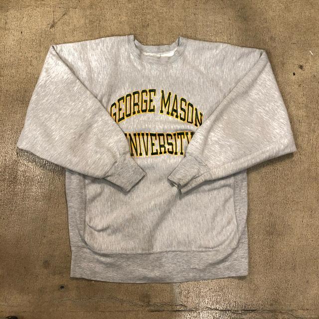 80's Champion R/W George Mason University Sweat ¥7,900+tax