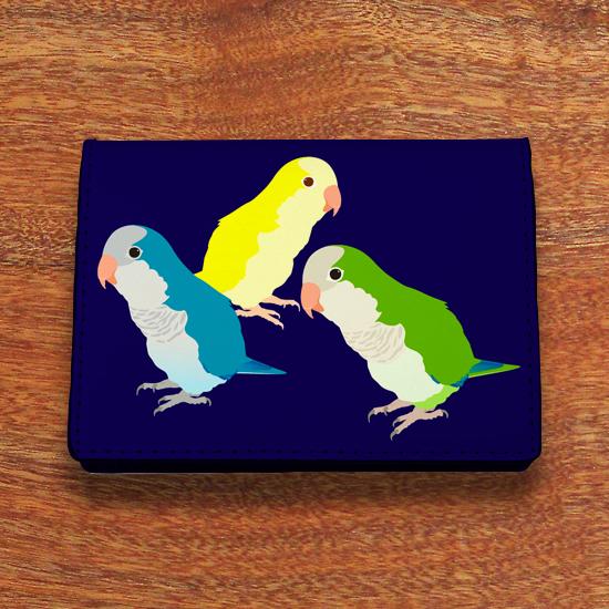 オキナインコ カードケース