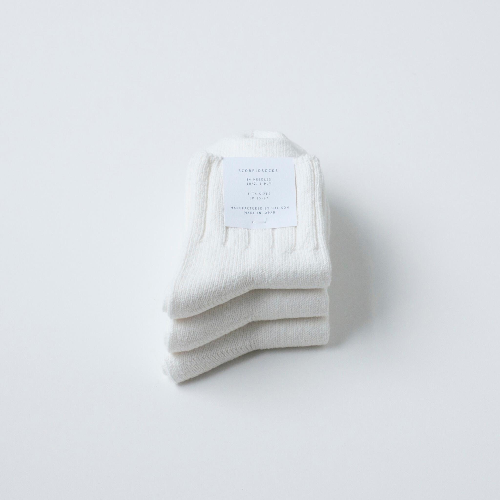 3PAIRS - WHITE 3PACK - 画像1