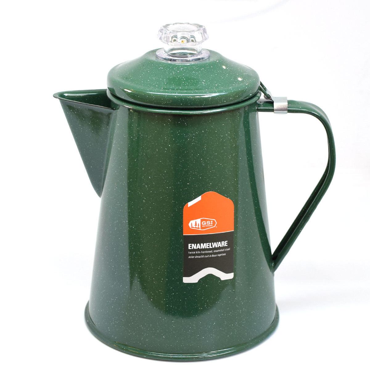 GSI OUTDOORS(ジーエスアイ)ホウロウ コーヒーパーコレーター 8カップ