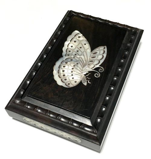 林社製 螺鈿 黒檀 標準サイズ