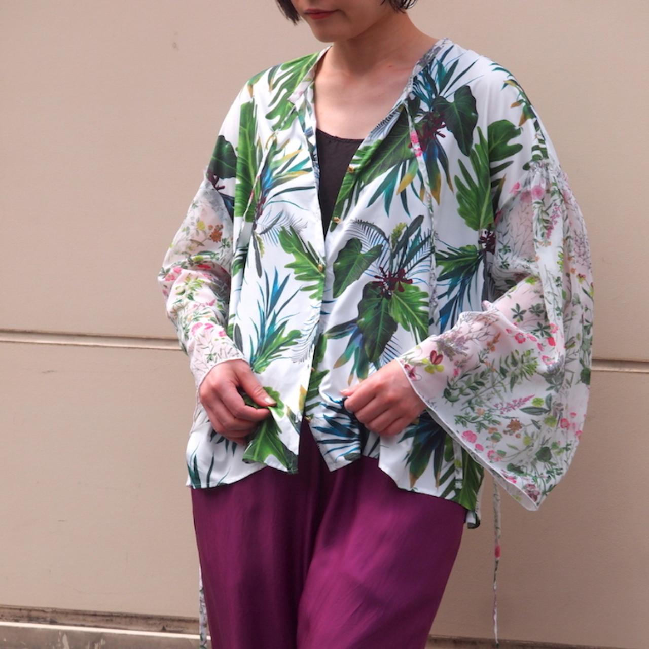 【hippiness】flare blouse/【ヒッピネス】フレア ブラウス