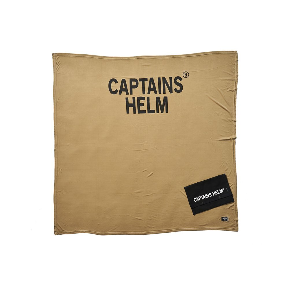 CAPTAINS HELM #Ice Touch Blanket With Pouch