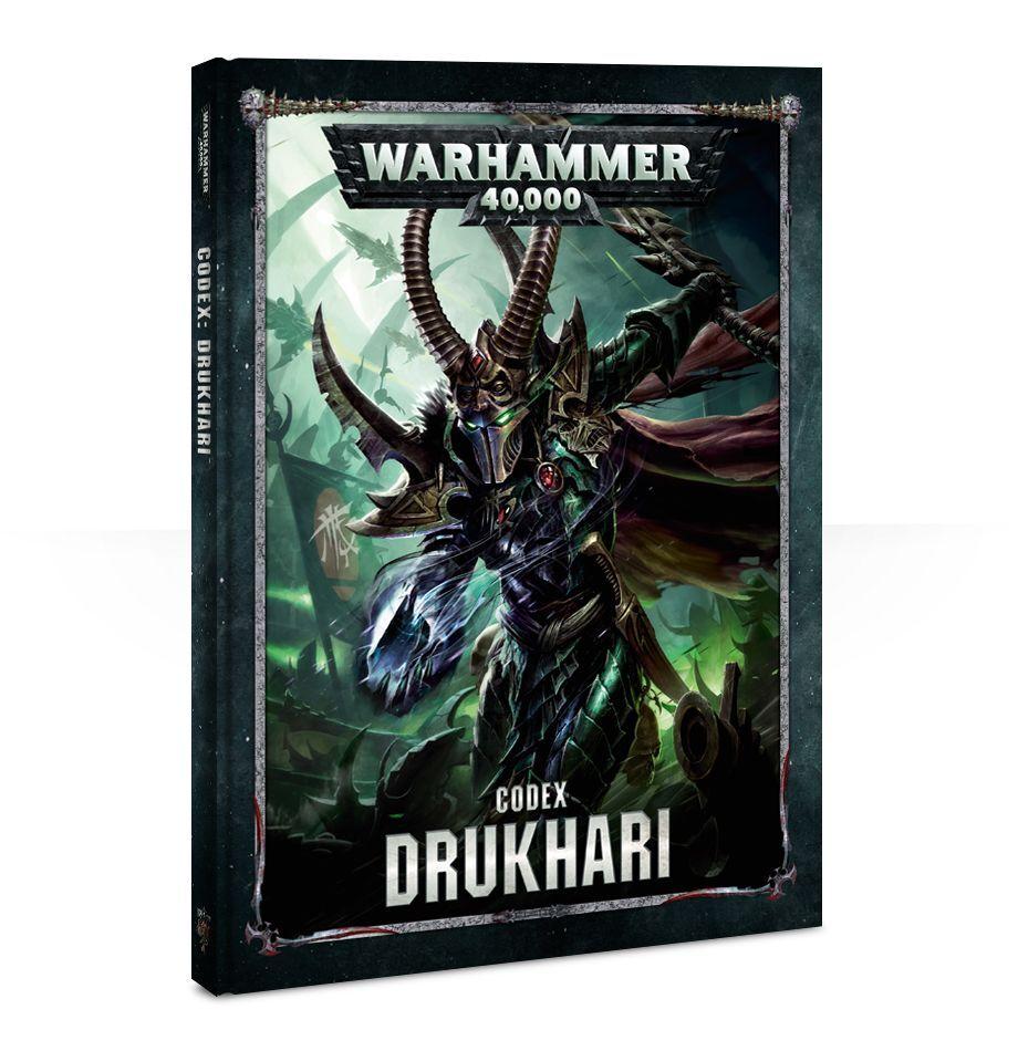 【20%OFF!】Codex: Drukhari (英語版・8版)
