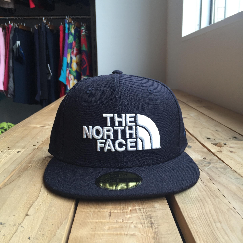 USストア限定 The North Face x New Era Half Dome Logo Wool Cap Navy