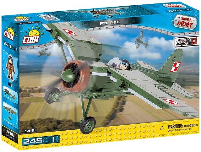 COBI #5516 PZL P11C (ポーランド軍)