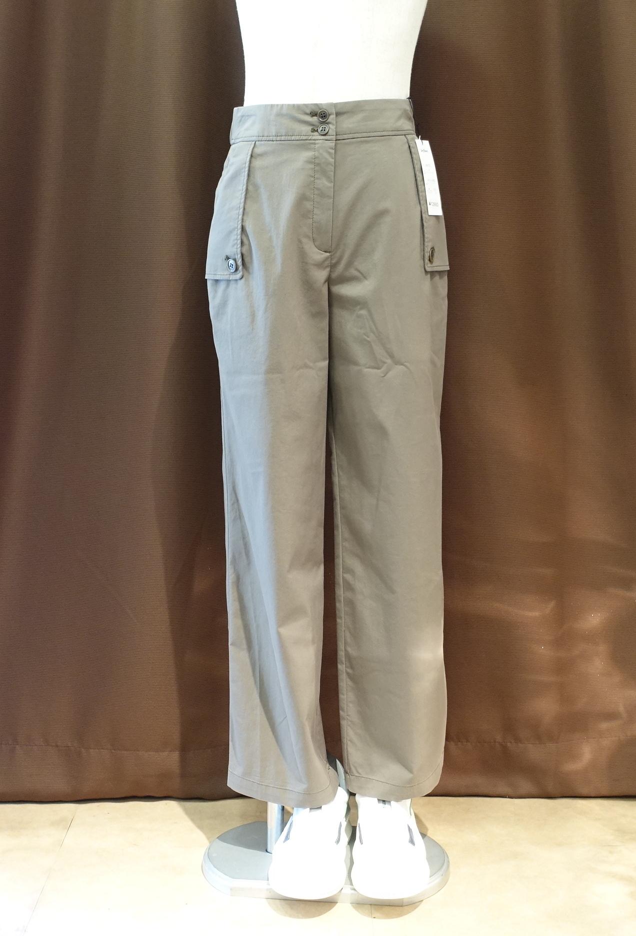 21060 ポケットデザインストレートパンツ