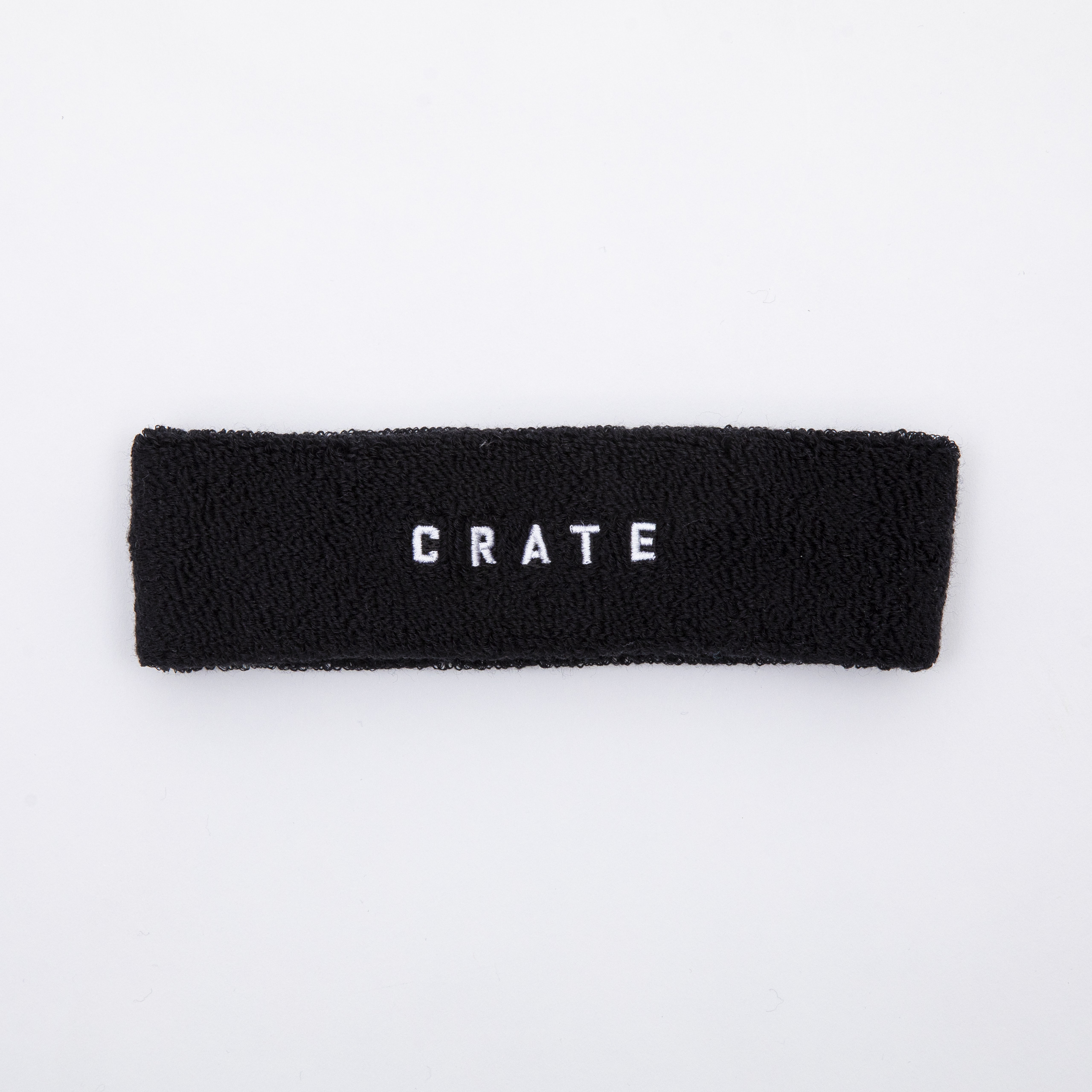 CRATE HEAD BAND Black