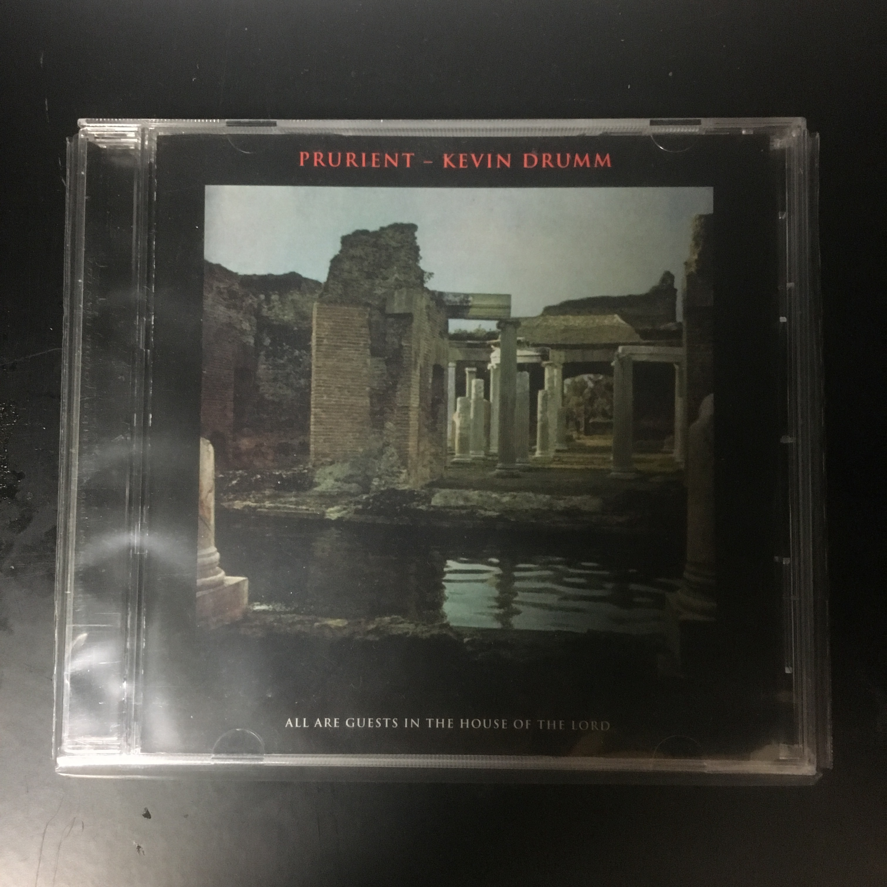 Prurient - Kevin Drumm – All Are Guests In The House Of The Lord(CD)USED