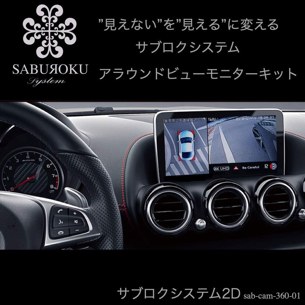 アラウンドビューモニター2D【サブロクシステム】