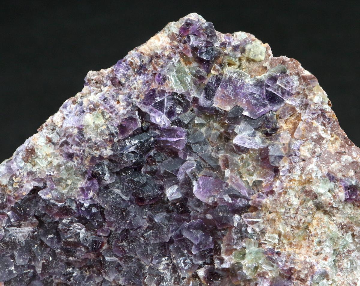 カリフォルニア産 フローライト 蛍石 原石 161,7g  FL045 鉱物 天然石 パワーストーン