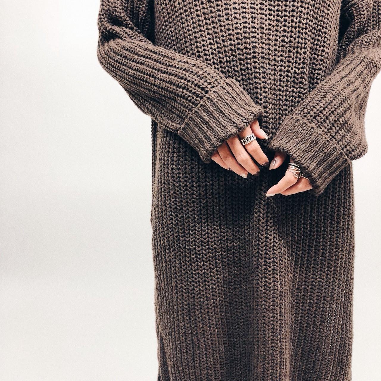 Long Knit OP
