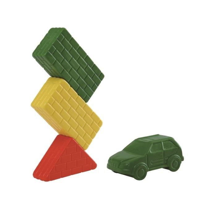 ぴたブロック(9ピース)柔らかいから安全、おすすめの大きいブロック