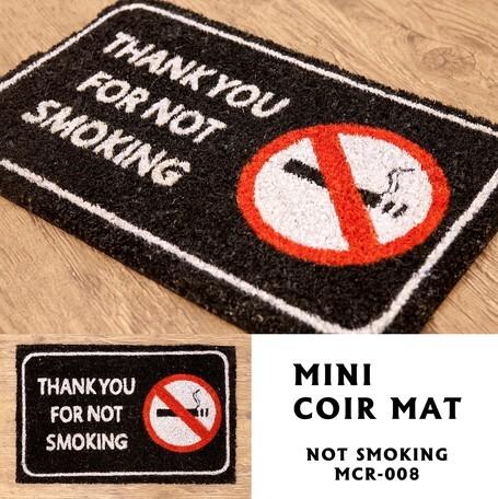 【エントランスマット】THANK YOU FOR NOT SMOKING