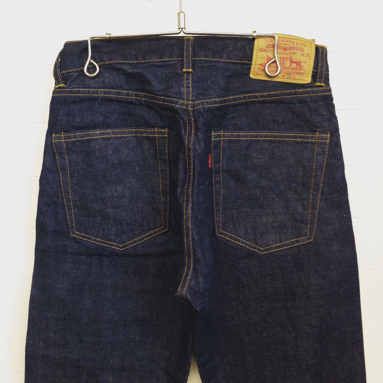 TCB(ティーシービー) Pre-shrunk jeans (type 505)