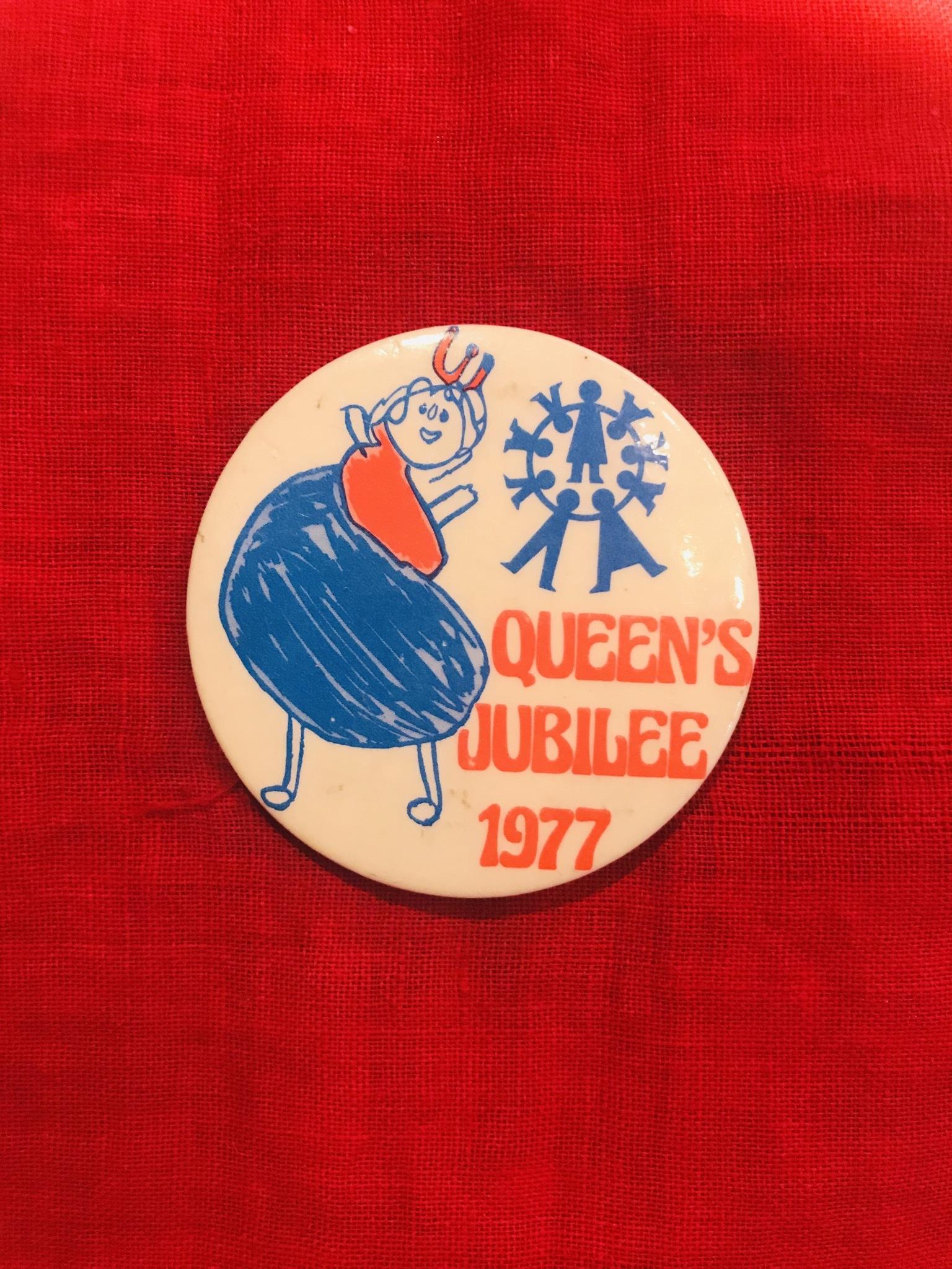 Silver Jubilee 1977 badge
