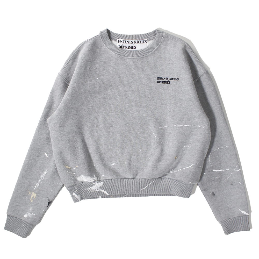 ENFANTS RICHES DÉPRIMÉS  Gray Pullover