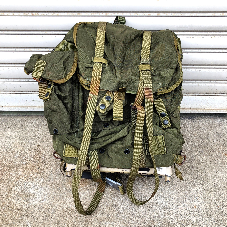 品番1267 米軍 リュックサック フレーム付 バックパック ミリタリーグッズ 米軍放出品