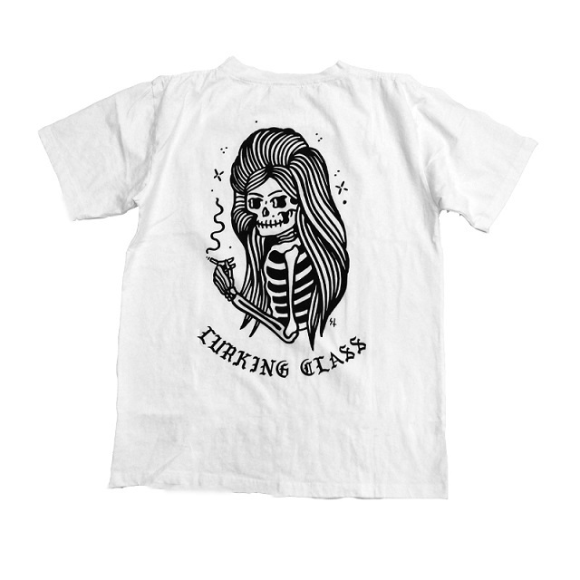 LURKING CLASS by SKETCHY TANK #Skull Girl Pocket Tee