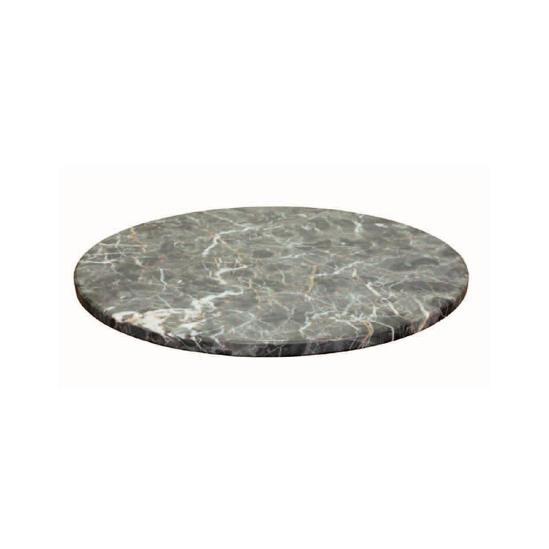 マーブル ダイニングテーブル ターンテーブル 500