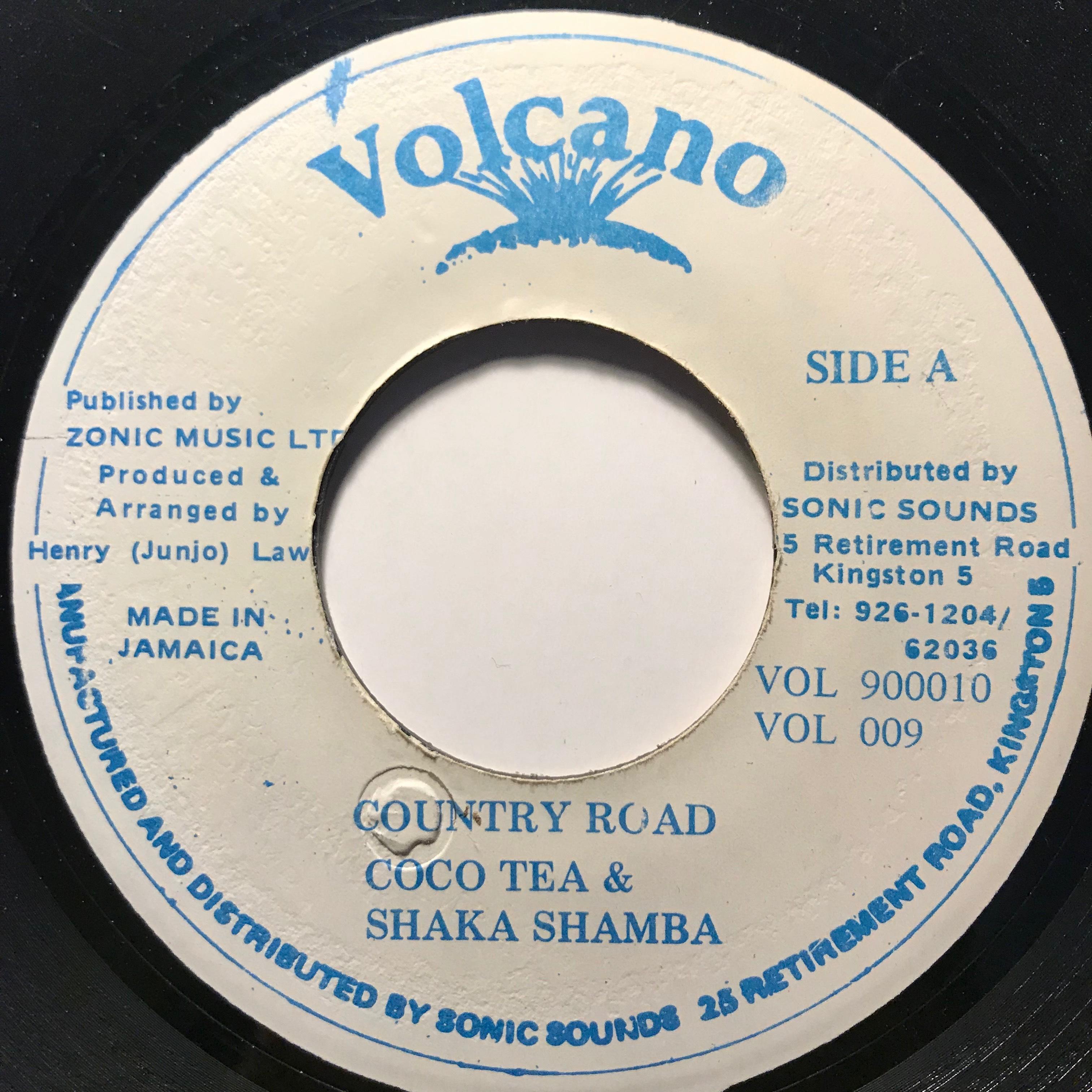Cocoa Tea & Shaka Shamba - Country Road【7-10796】