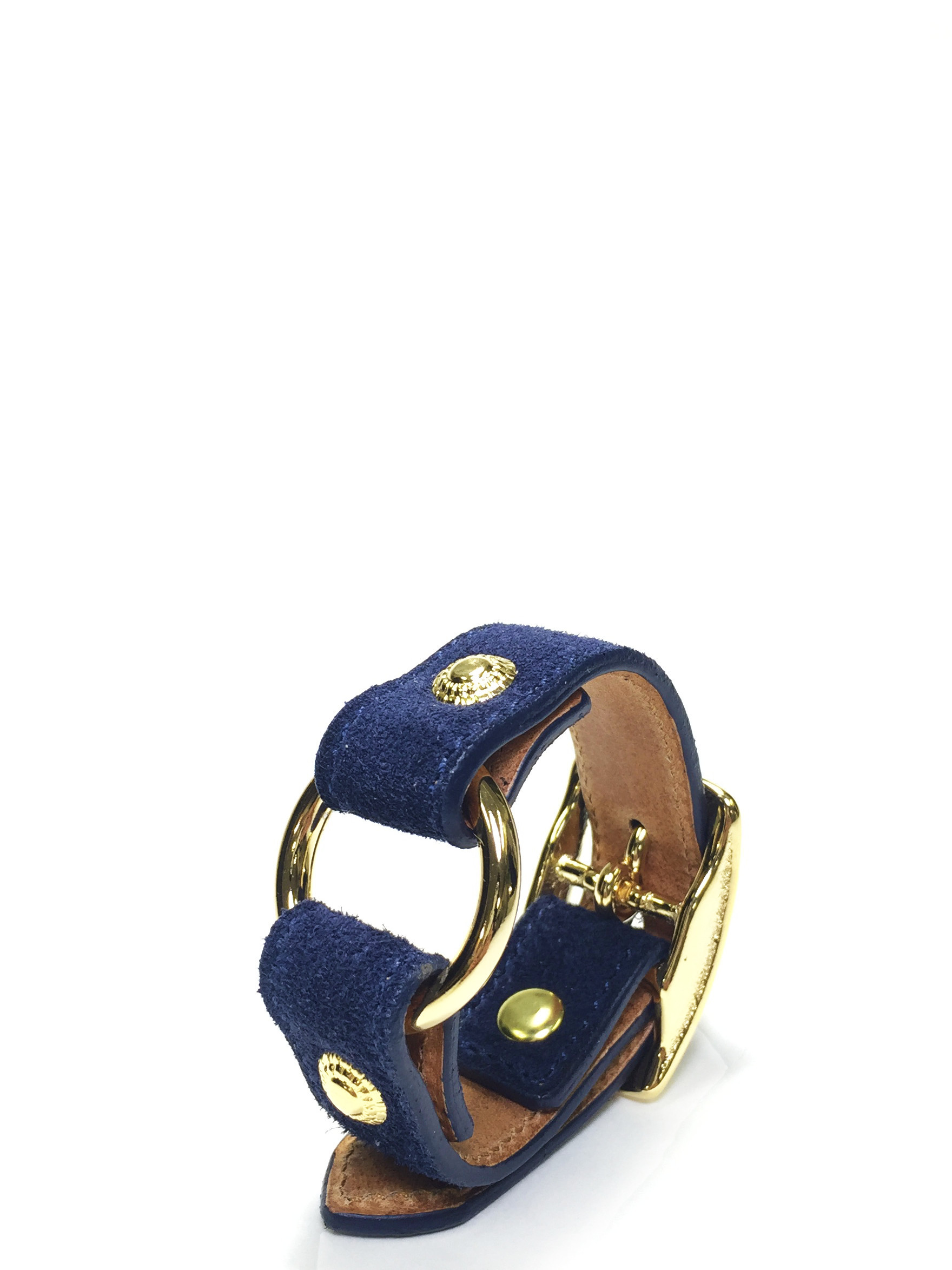 nahezugleich / Suede Ring bracelet - 画像3