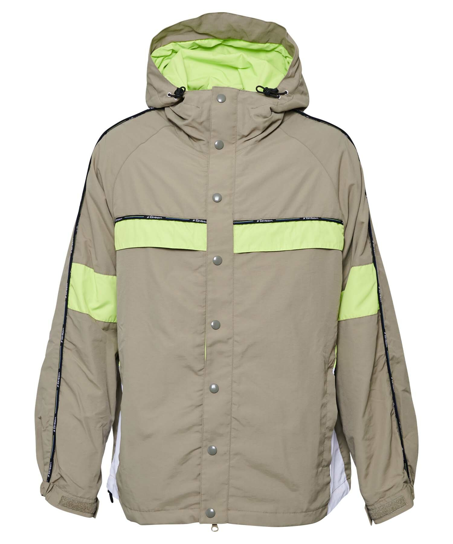 NEON COLOR SCHEME BIG MOUNTAIN PARKA[REJ049]