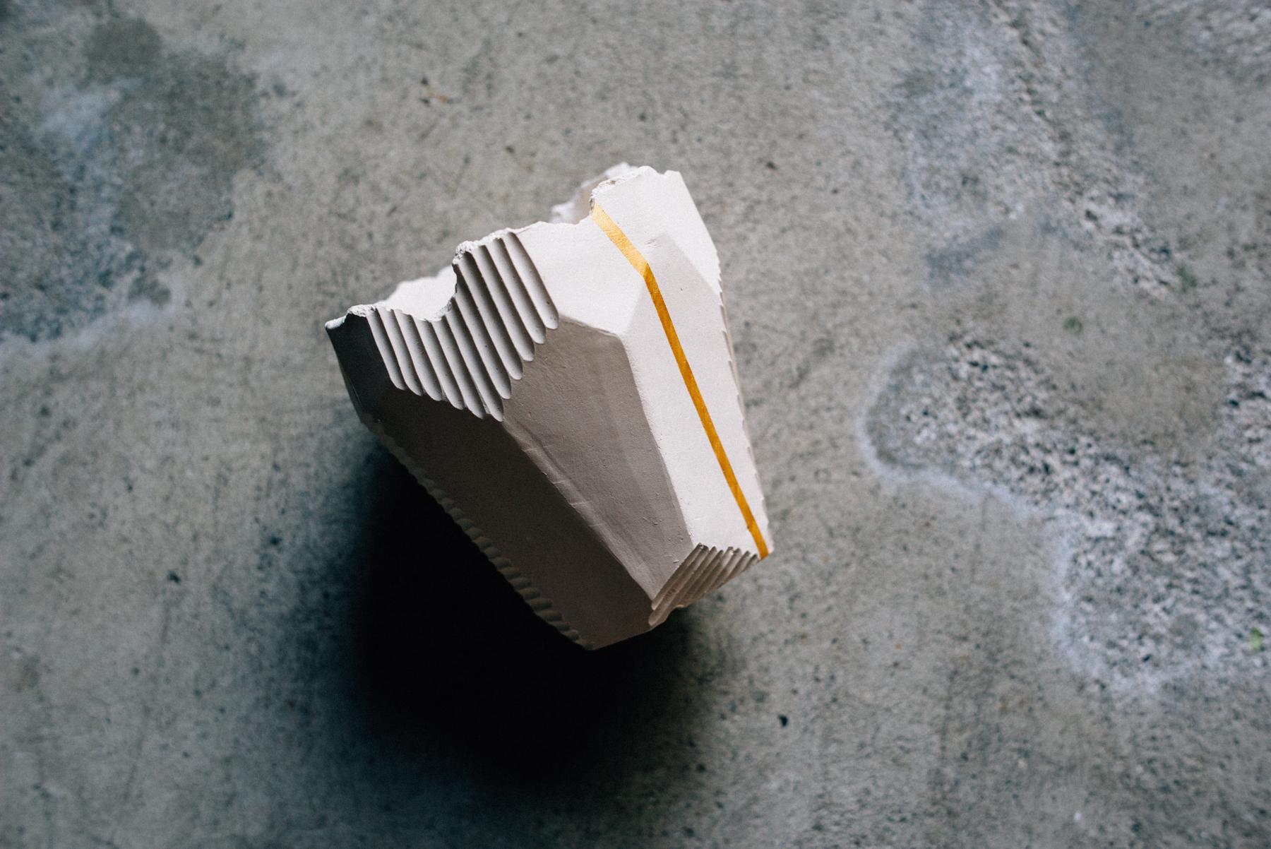澪標 / S / POT / [ 白亜 / 白亜+金ライン] ※2パターン選択