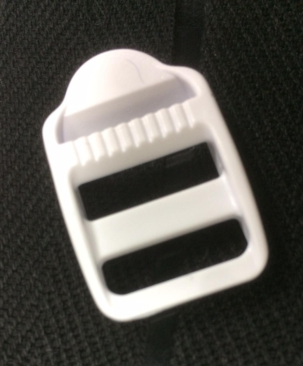 NIFCO プラスチックパーツ アジャスター ラダーロック 白 LL-20   2個入り