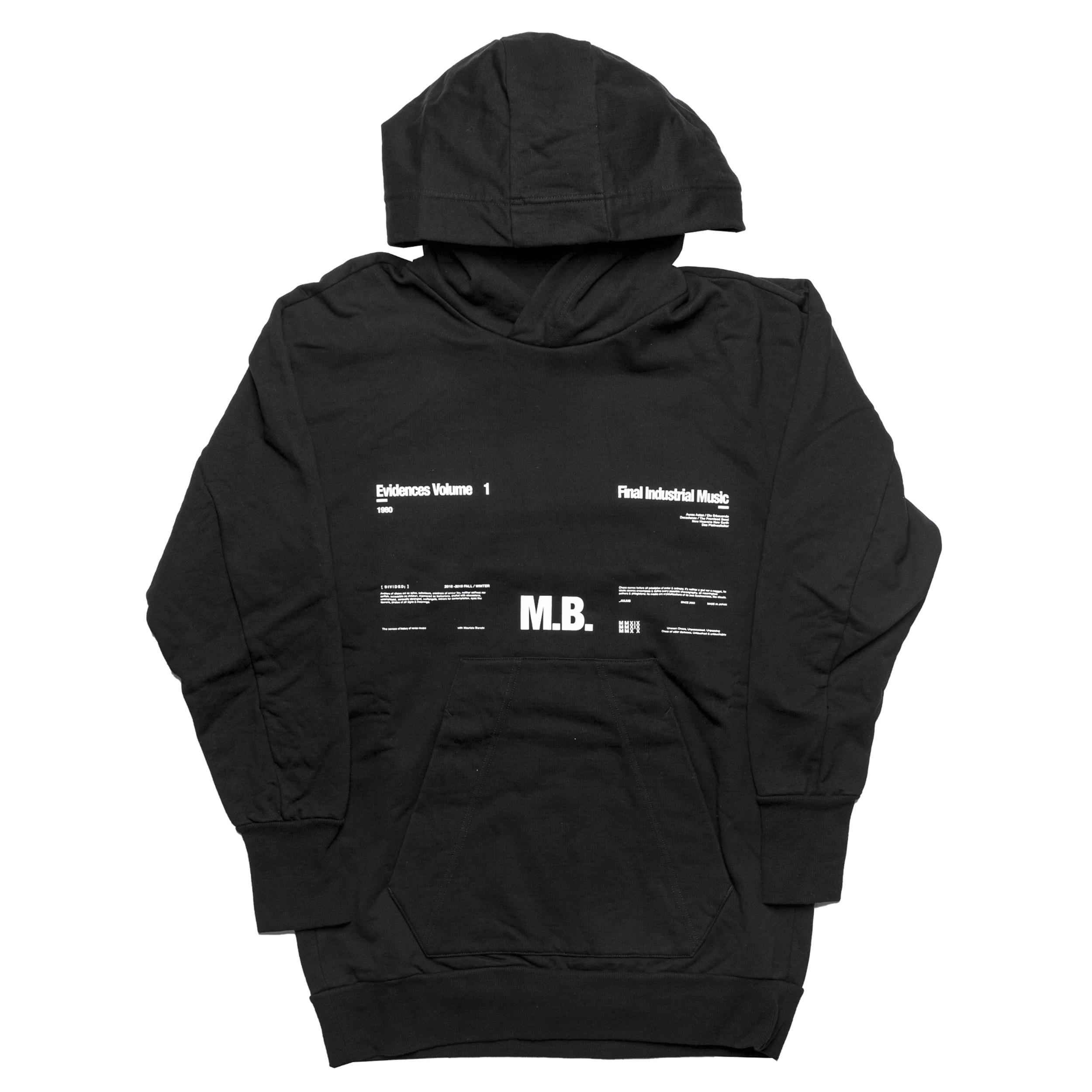 677CPM1-BLACK / M. B. ビッグフーディ