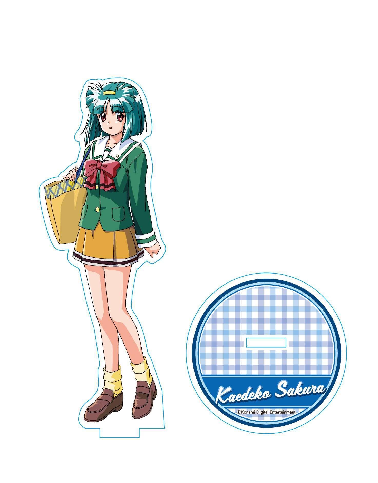 ときめきメモリアル2  アクリルスタンド  佐倉 楓子