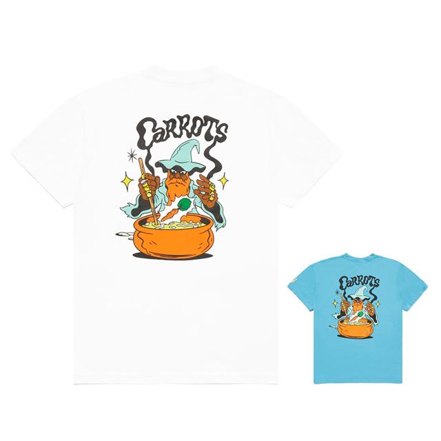 Carrots × Tell Your Children WZRD TEE - WHITE