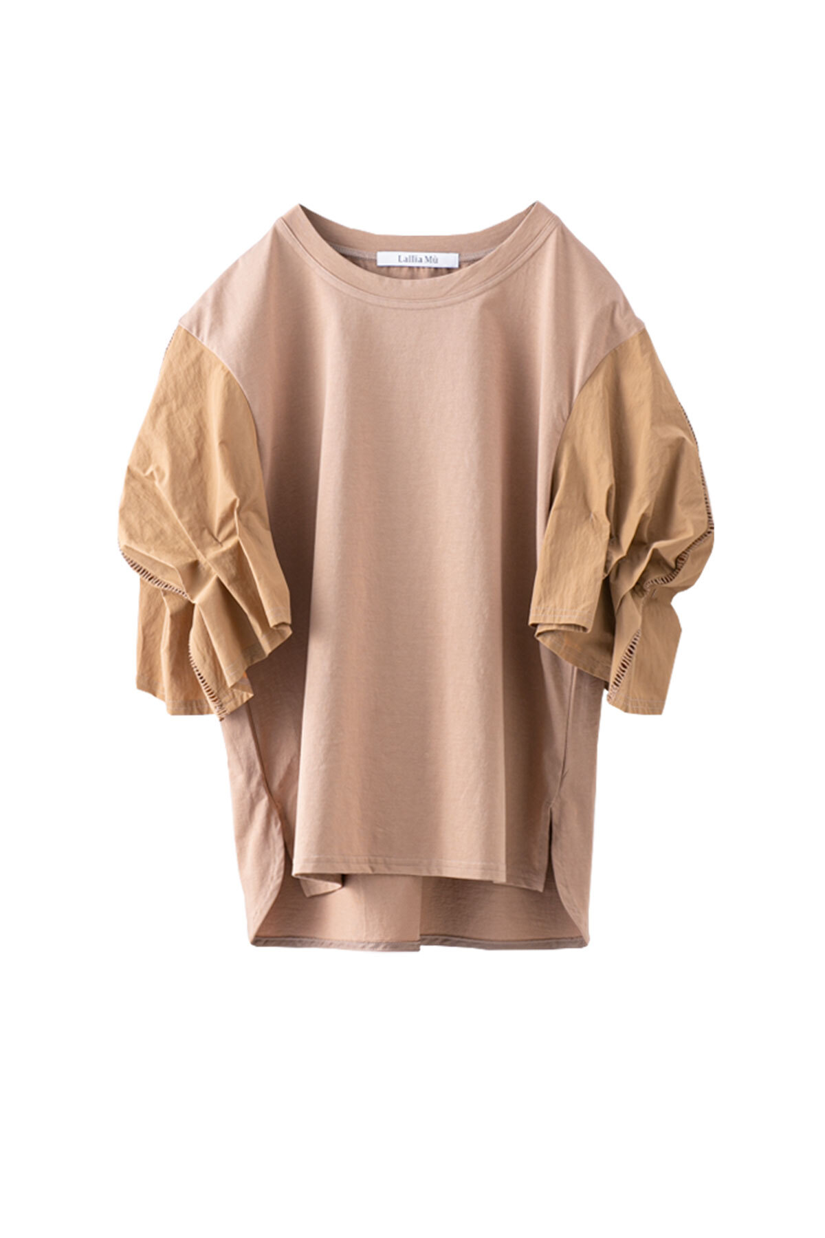 バドスリーブTシャツ <キャメル>