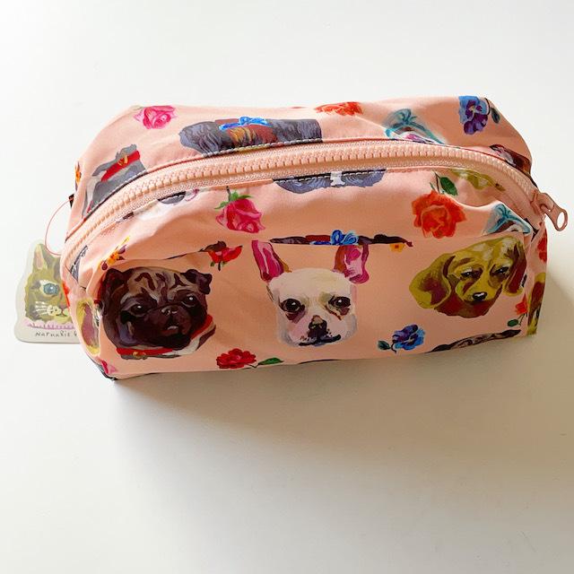 Nathalie Lete Oblong pouch Dog ナタリーレテ ポーチ ドッグ 犬