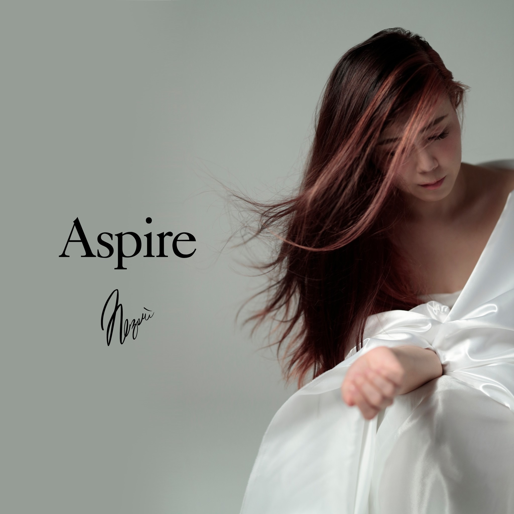 SOLD OUT【NEW】2nd Album 「Aspire」(PhotoBookライナーノーツ付き) 10/14日発売予定